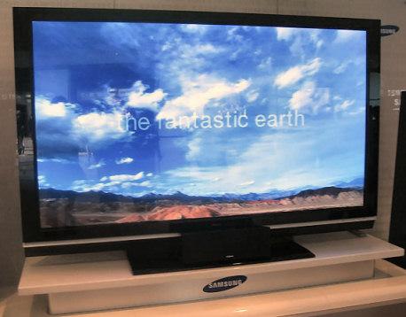 Grootste plasma tv ter wereld 102 inch - Meubilair tv thuis van de wereld ...
