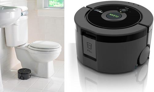 Na robotstofzuiger nu ook robot die badkamervloer schrobt for Badkamervloer schoonmaken