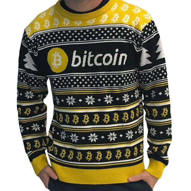 Anti Kersttrui.Met Bitcoin Kersttrui Heb Je Zeker De Lelijkste Kersttrui Van