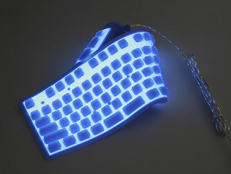 Opvouwbaar en verlicht toetsenbord | Gadgetzone.nl